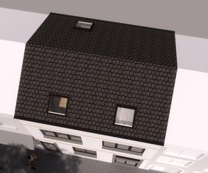Rijwoning / opbouw verdiepingsplannen / zolder