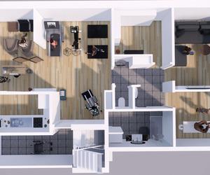 By Ivo Toremans bvba Rijwoning / opbouw verdiepingsplannen / praktijk.
