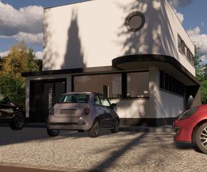Ivo Toremans bvba, parking tekenbureau.