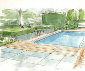 Presentaties voor tuin en landschapsarchitecten en zwembad bouwers.