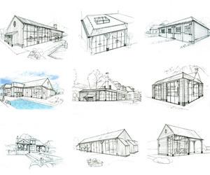 Houten bijgebouwen /  poolhouses  / carports.