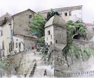 Sartene, Corsica.